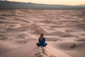 Hallow App desert