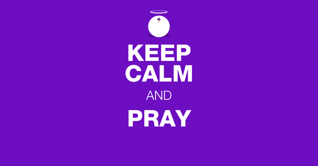 Hallow App Response to Covid-19 - Keep Calm and Pray