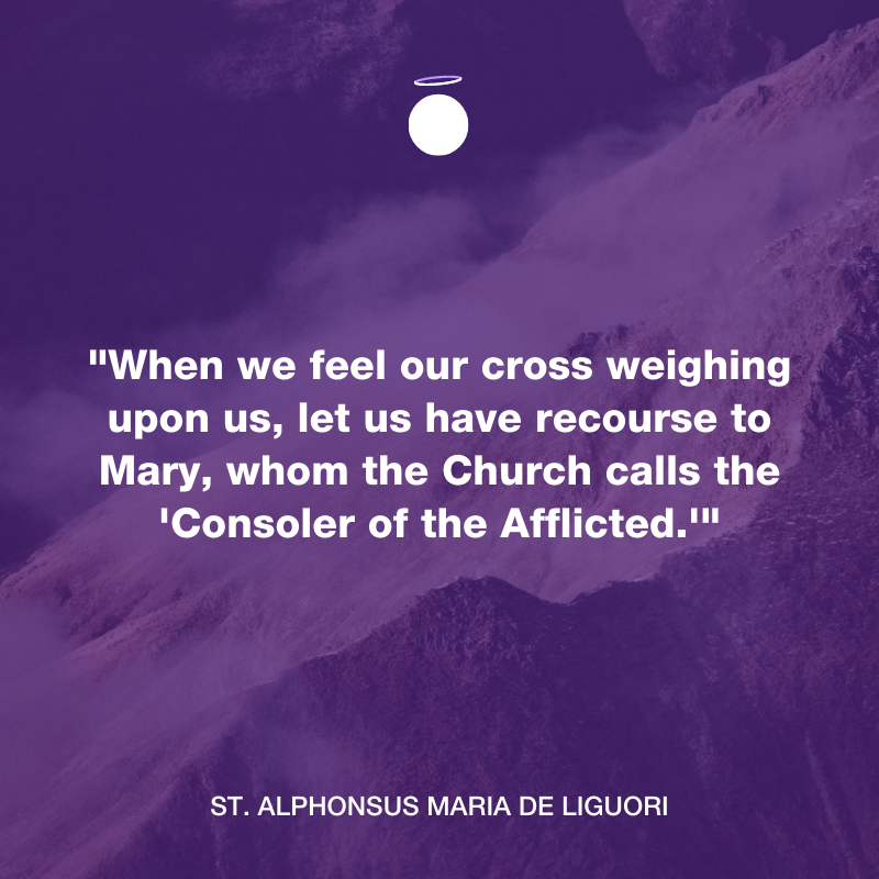 Hallow Daily Quote - cross of christ