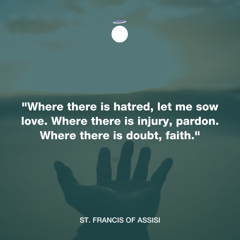 Hallow Daily Quote - Saint Francis of Assisi