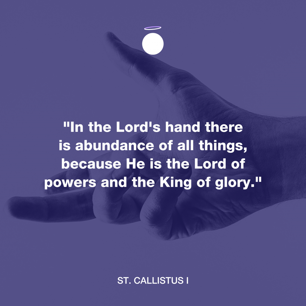 Hallow Daily Quote - Lord's abundance