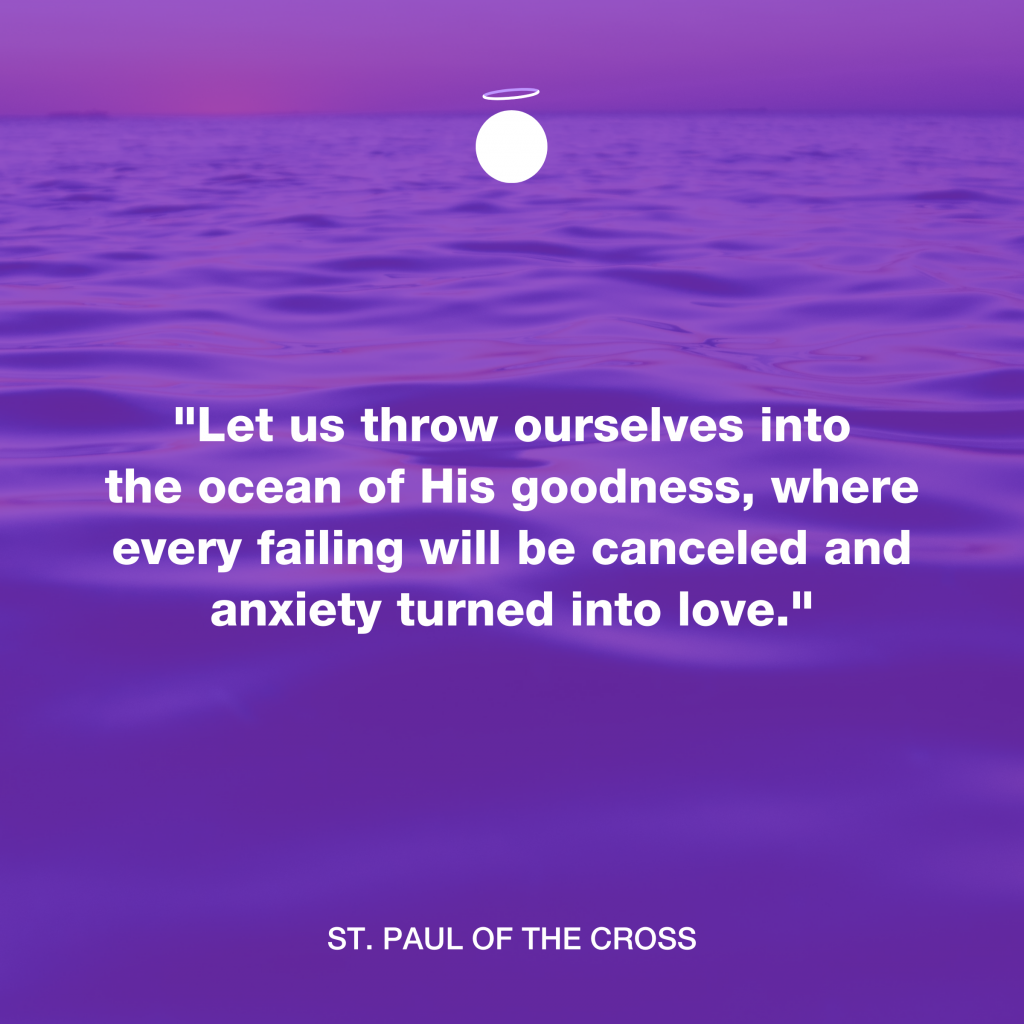 Hallow Daily Quote - His goodness