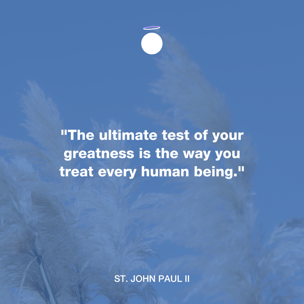 Hallow Daily Quote - Saint John Paul II