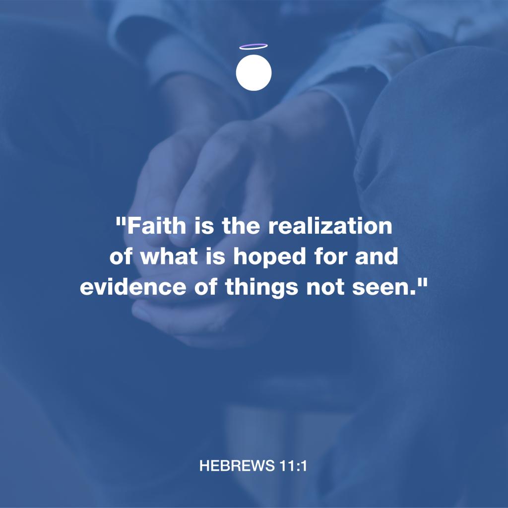 Hallow Bible Verse - Hebrew 11:1