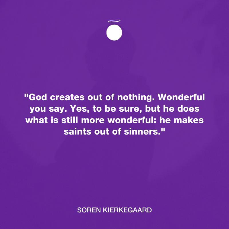 Hallow Daily Quote - Soren Kierkegaard