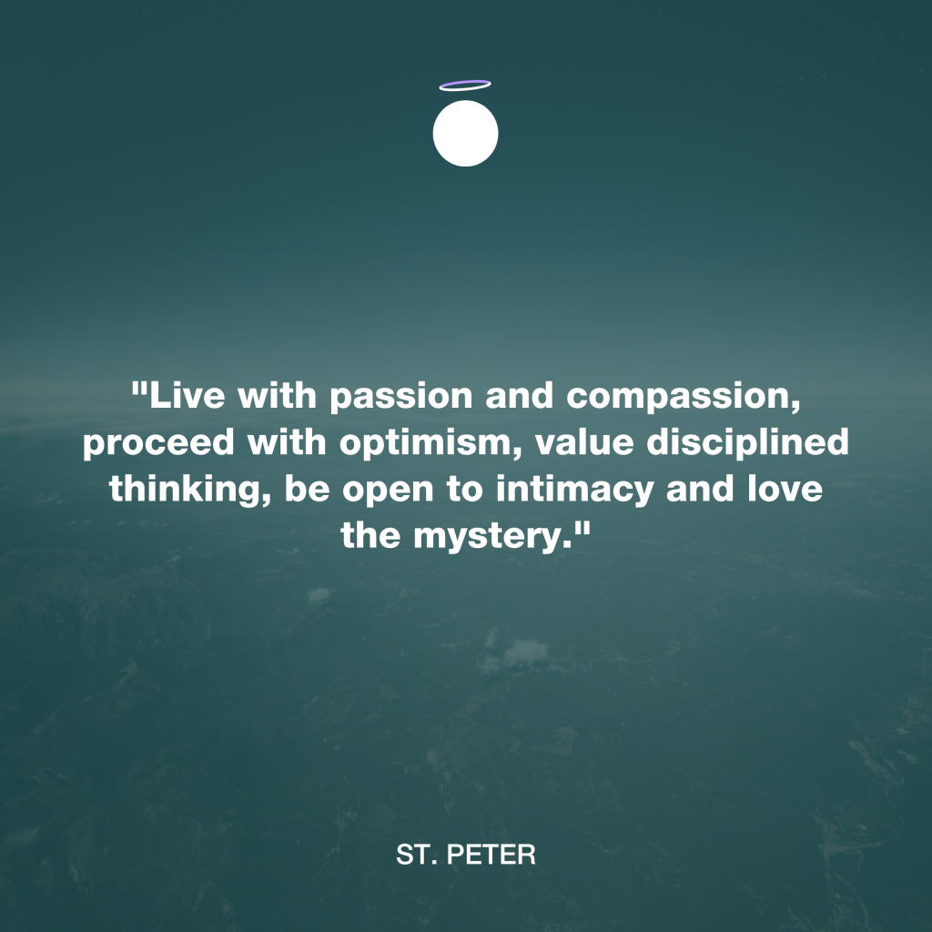 Hallow Daily Quote - Compassion - Saint Peter