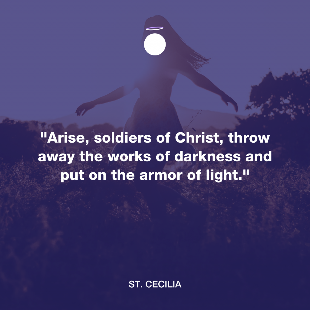 Hallow Daily Quote - Soldier of Christ