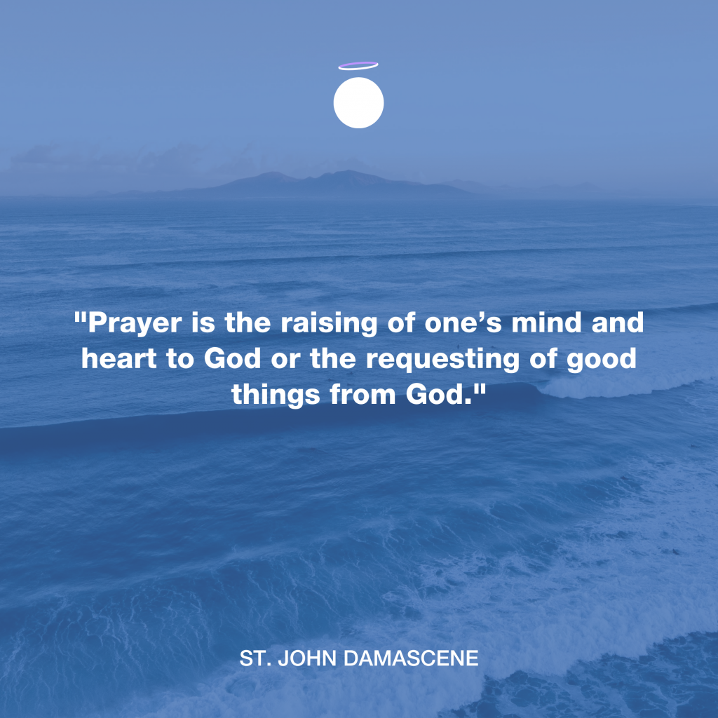 Hallow Daily Quote - Christian Prayer