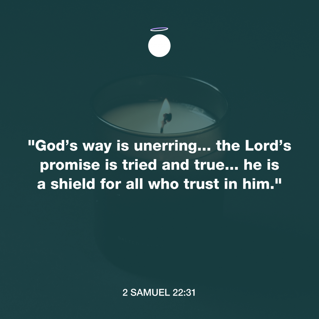 Hallow Bible Verse - Lord's promise