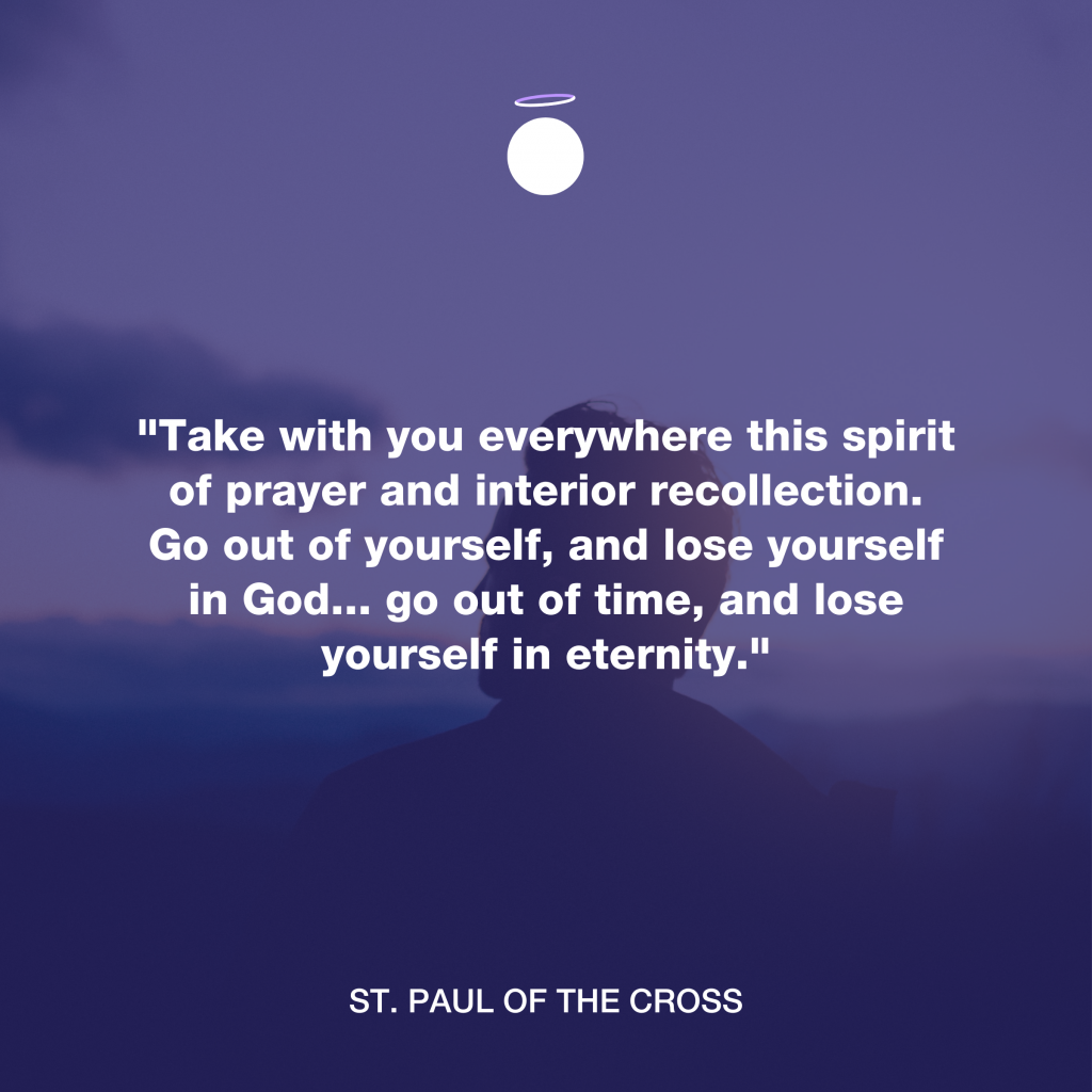 Hallow Daily Quote - Christian reflection
