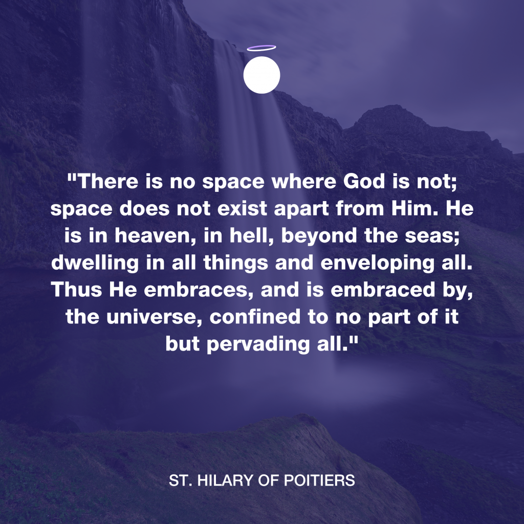 Hallow Daily Quote - Presence of God