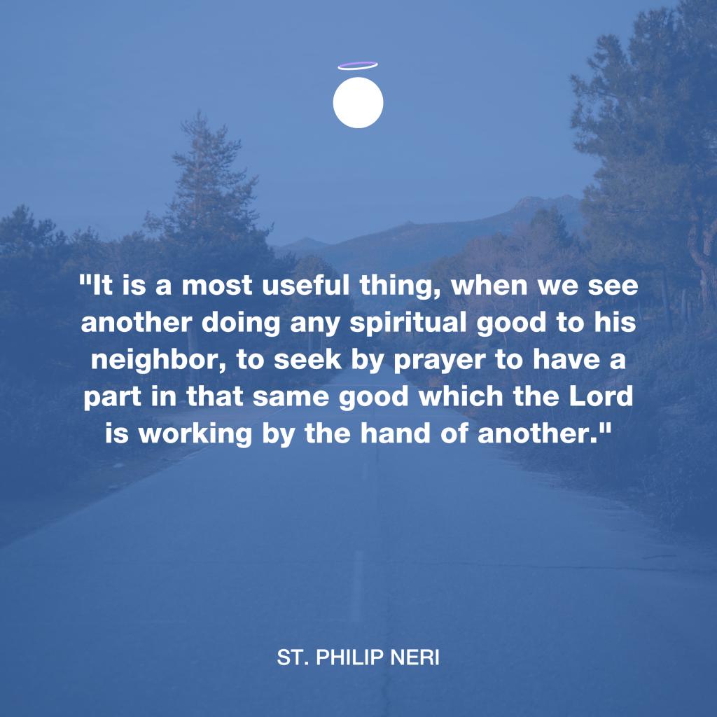 Hallow Daily Quote - Seek Prayer