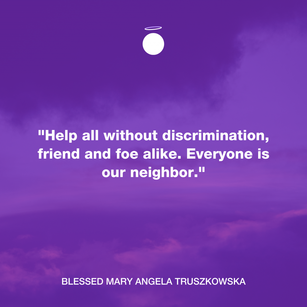 Hallow Daily Quote - Christian neighbor