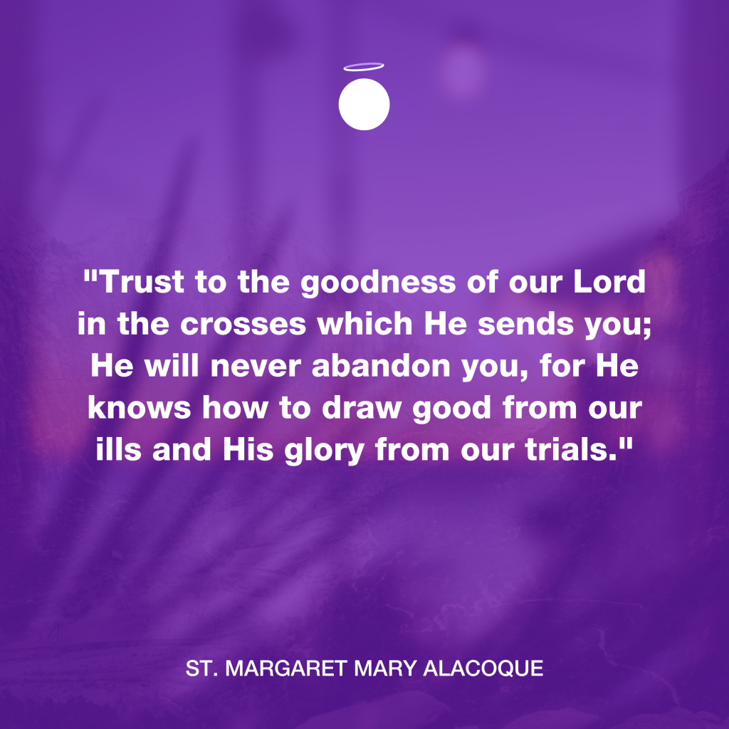 Hallow Daily Quote - God's goodness