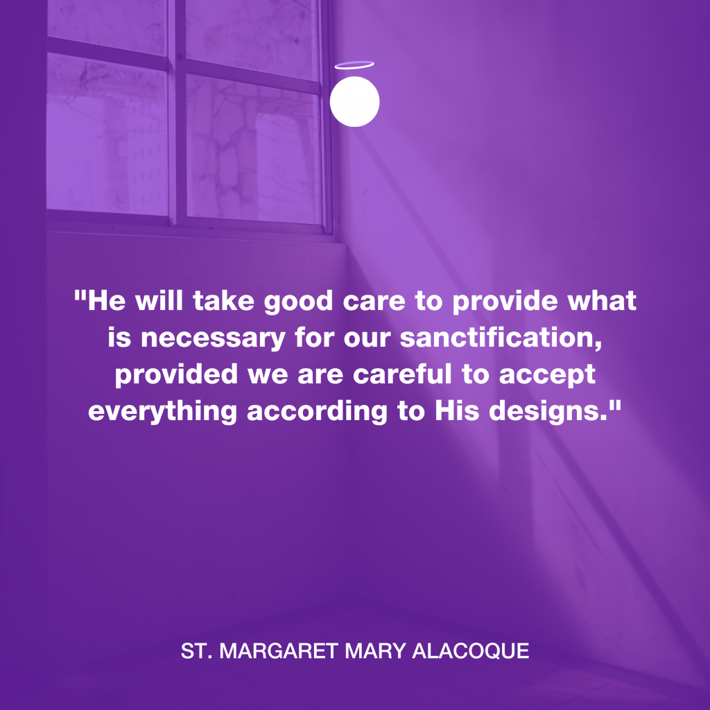 Hallow Daily Quote - sanctification