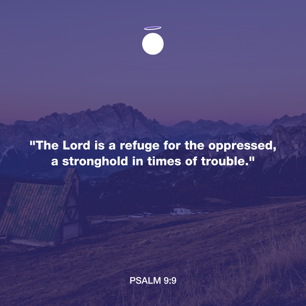 Hallow Bible Quote - Psalm 9:9