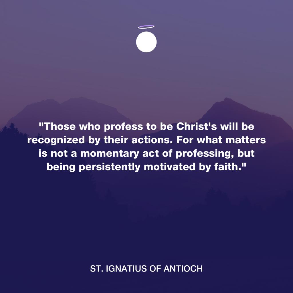 Hallow Daily Quote - Saint Ignatius