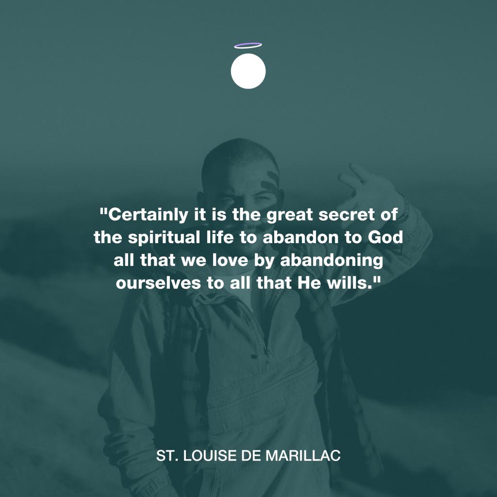 Hallow Daily Quote - spiritual life