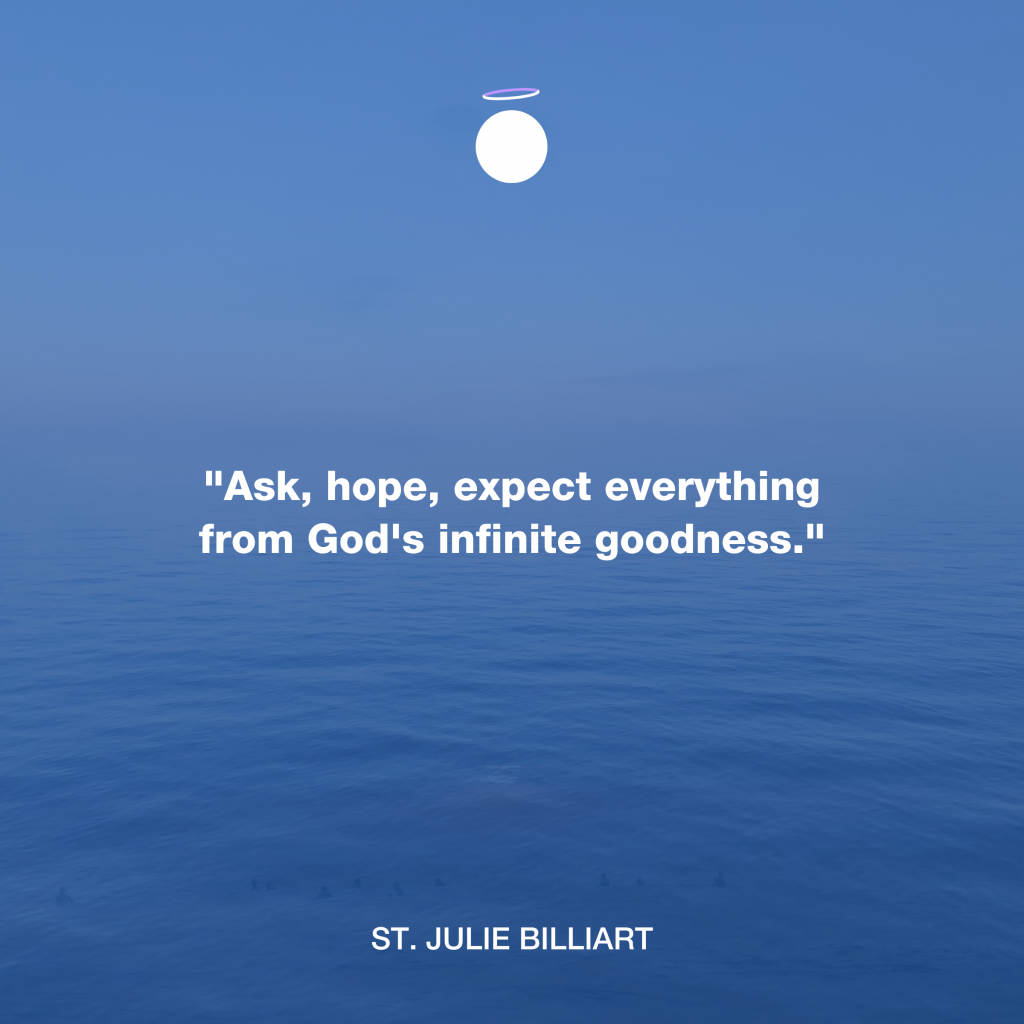 Hallow Daily Quote - hope