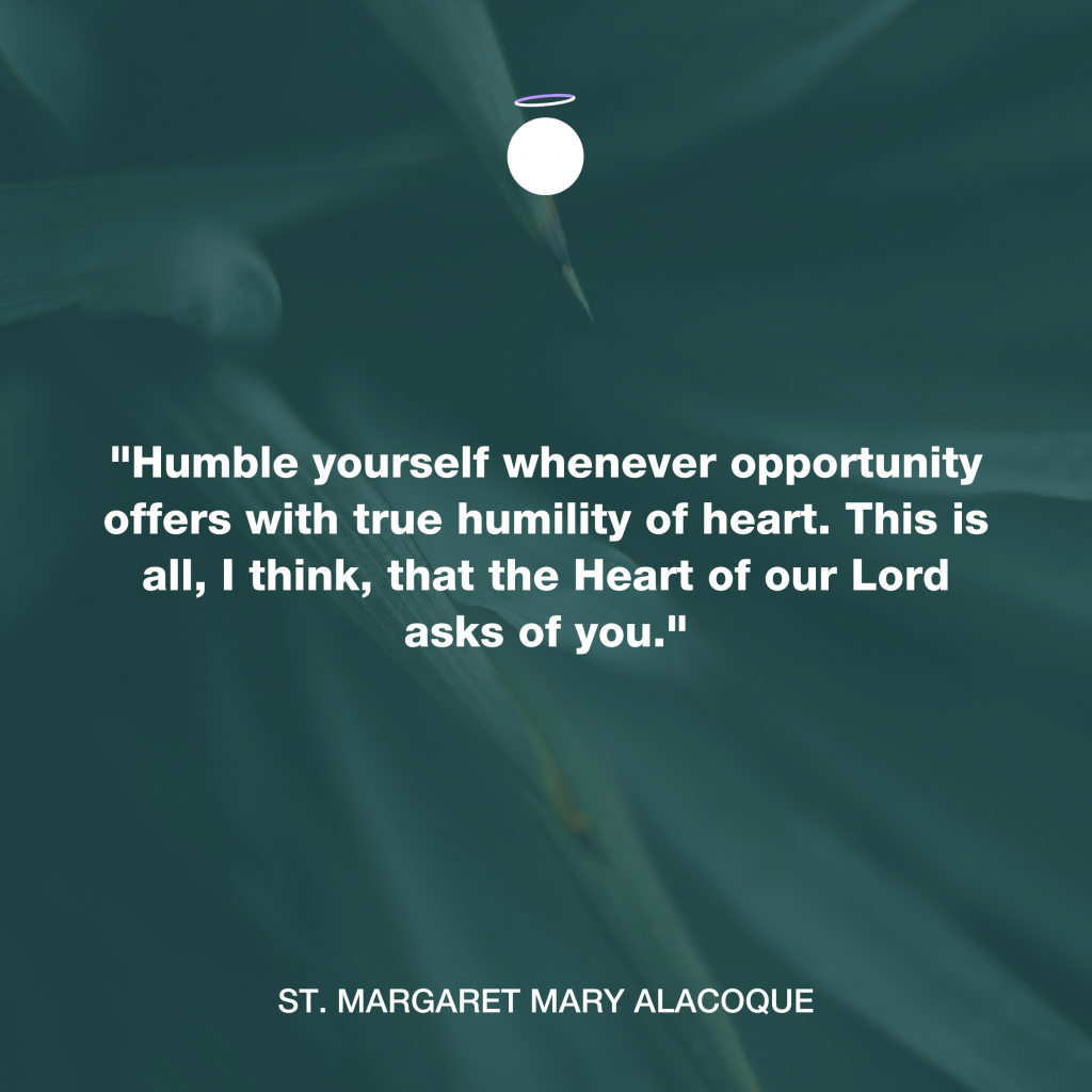 Hallow Daily Quote - humility
