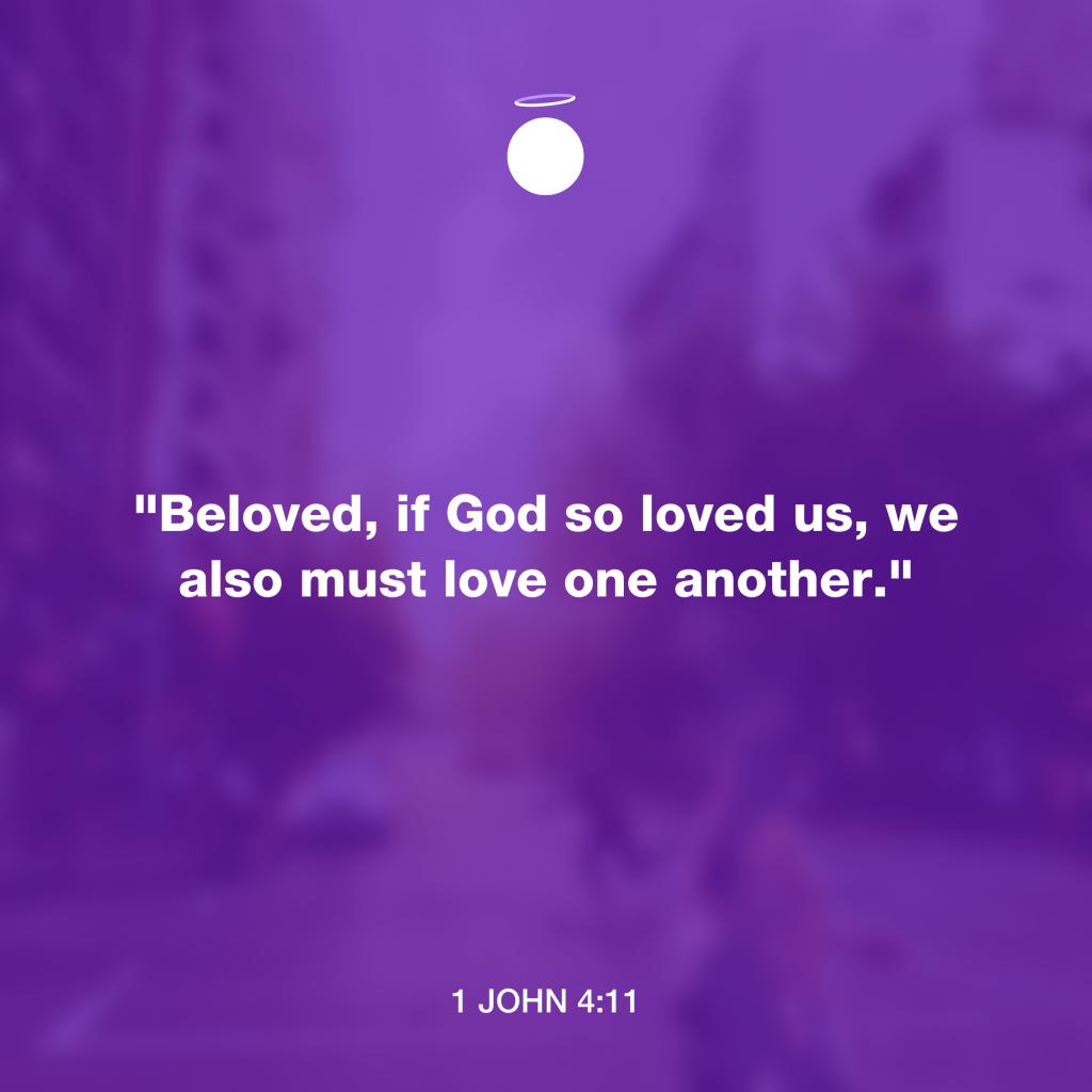 Hallow Bible Quote - 1 John 4:11