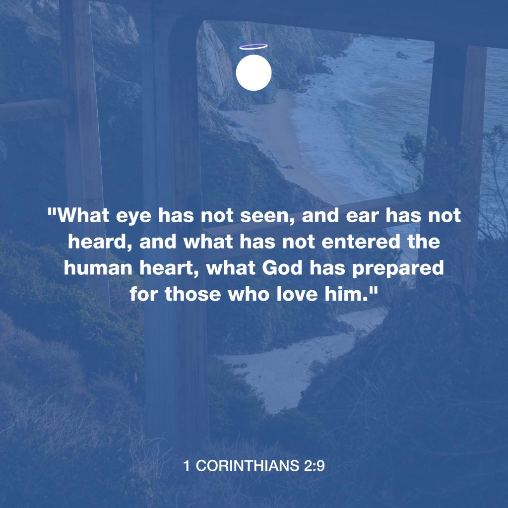 Hallow Bible Quote - 1 Corinthians 2:9