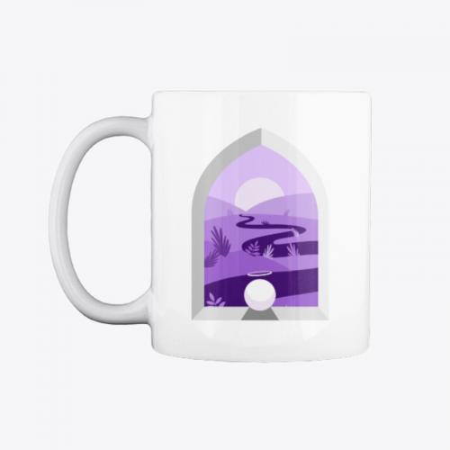 Hallow swag purple mug