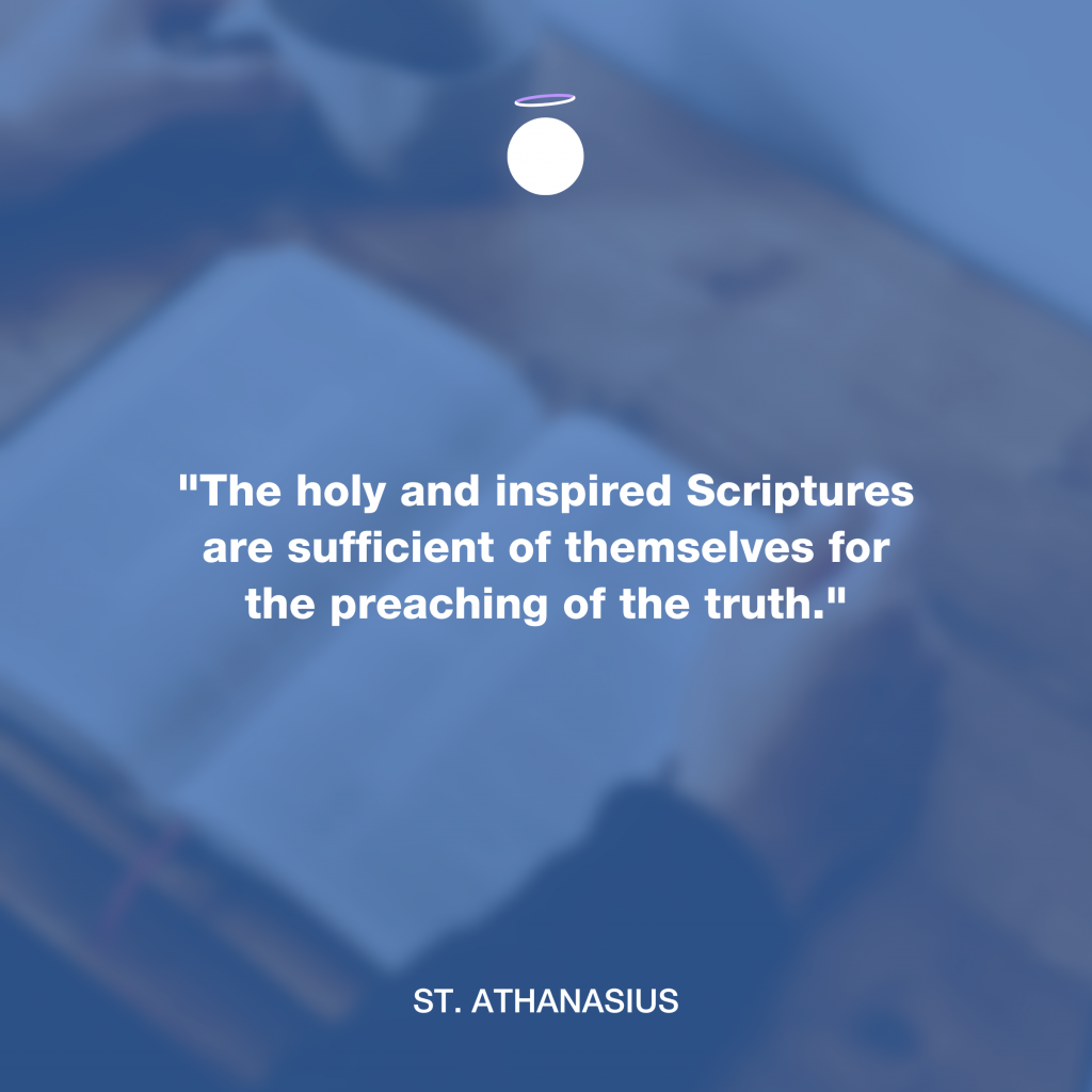 Hallow Daily Quote - Scriptures