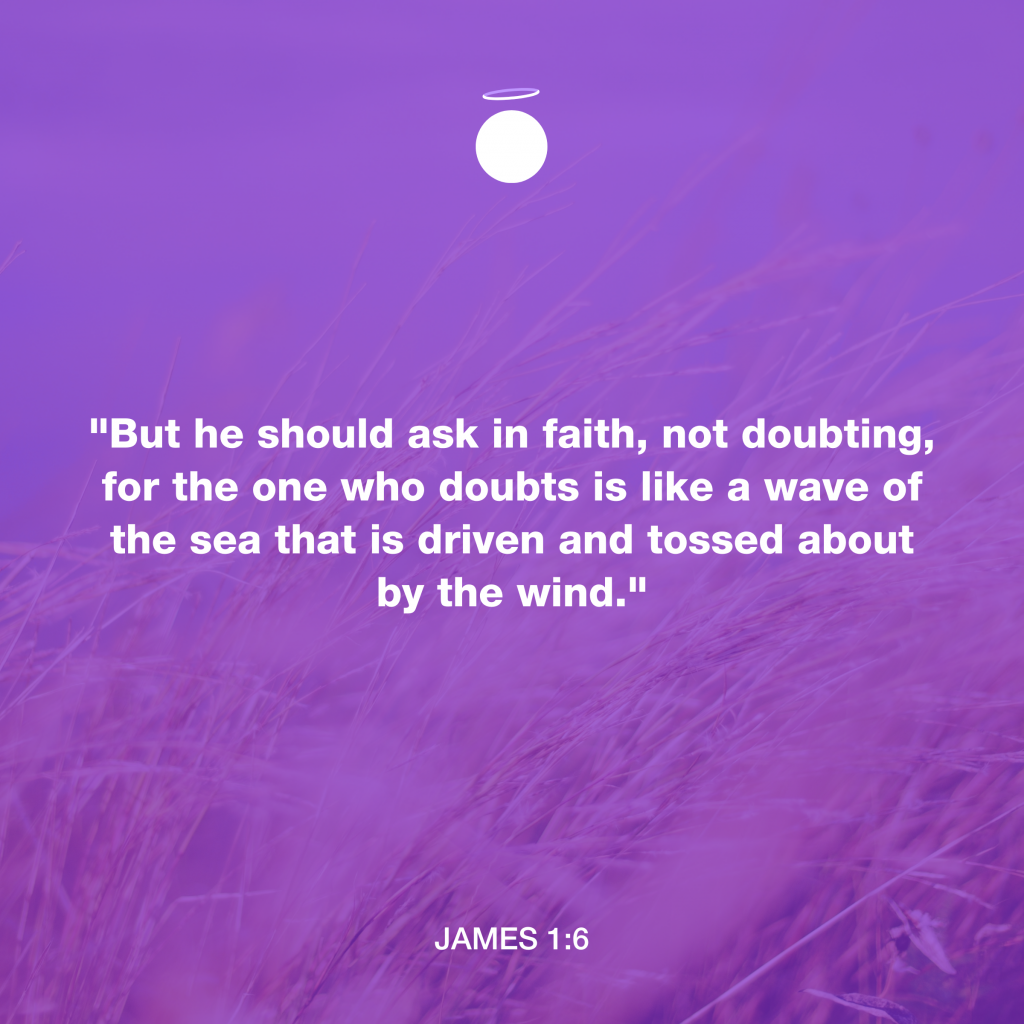 Hallow Daily Quote - Faith over Doubt