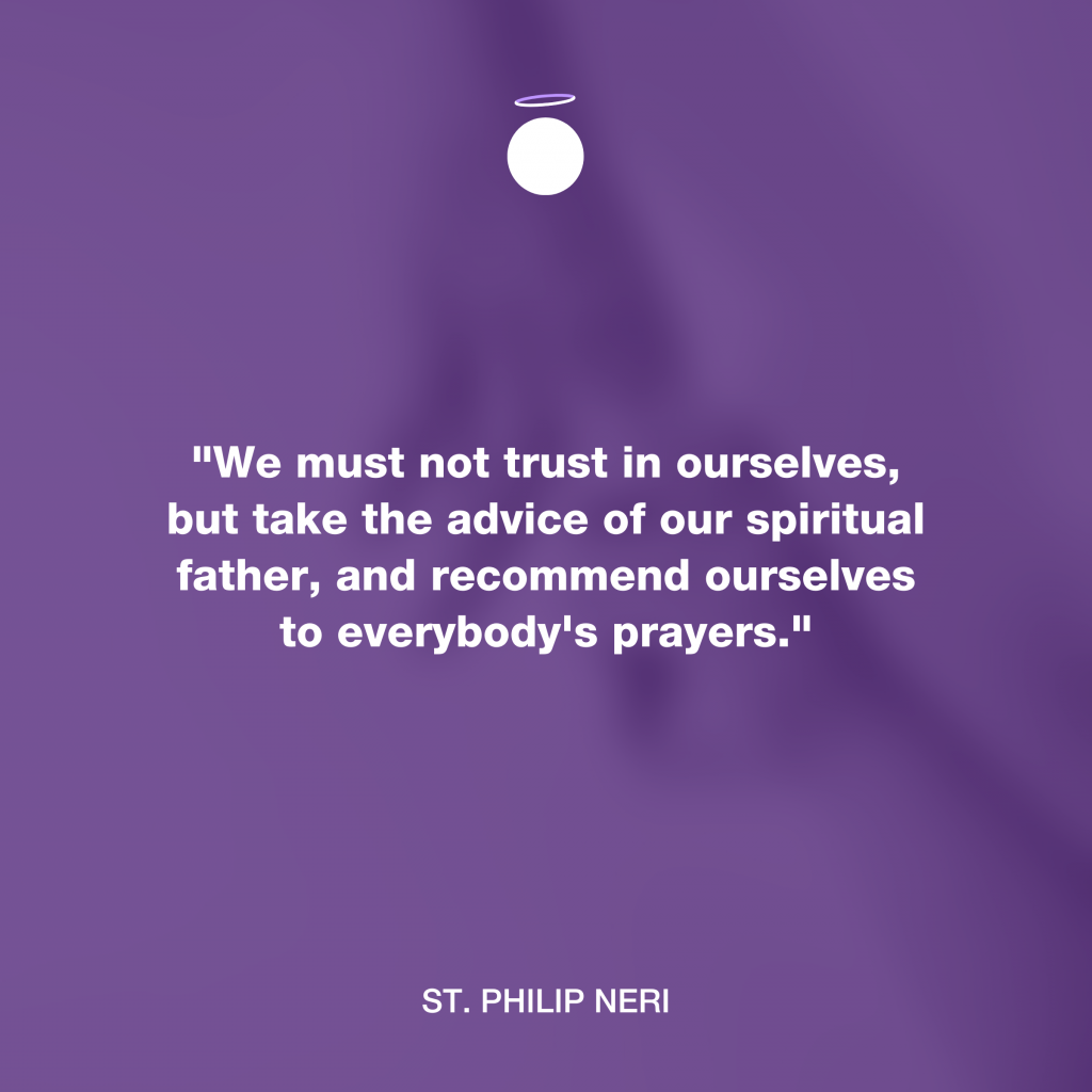 Hallow Daily Quote - spiritual father