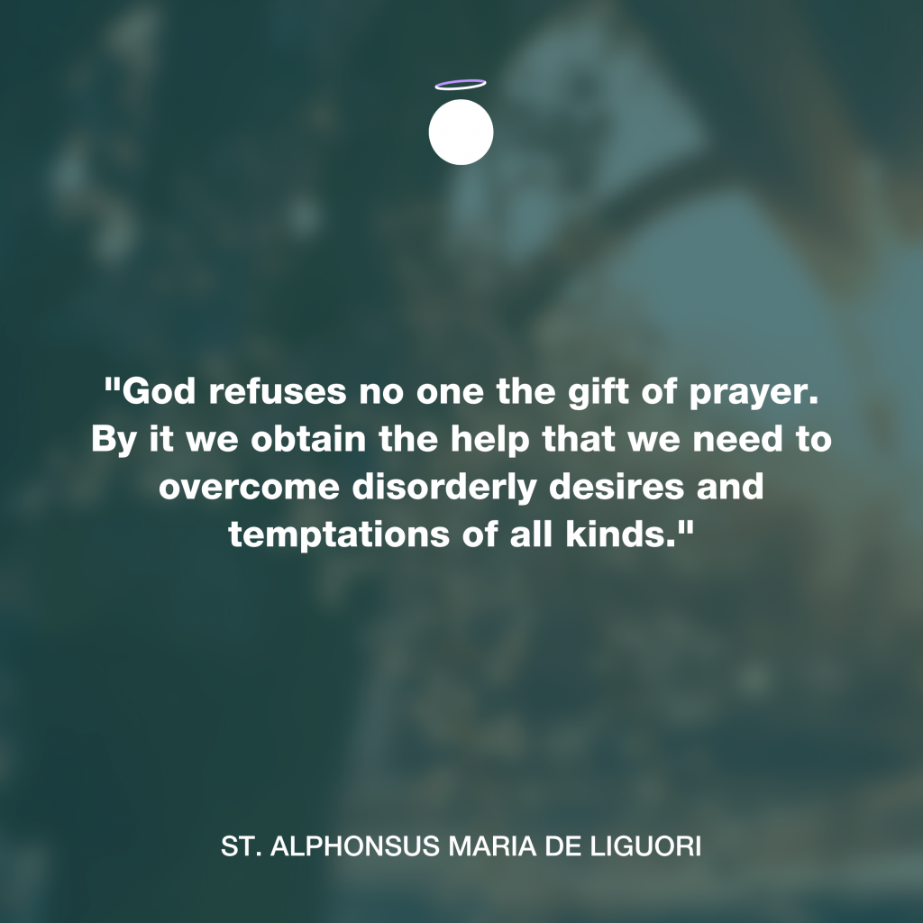 Hallow Daily Quote - Gift of Prayer