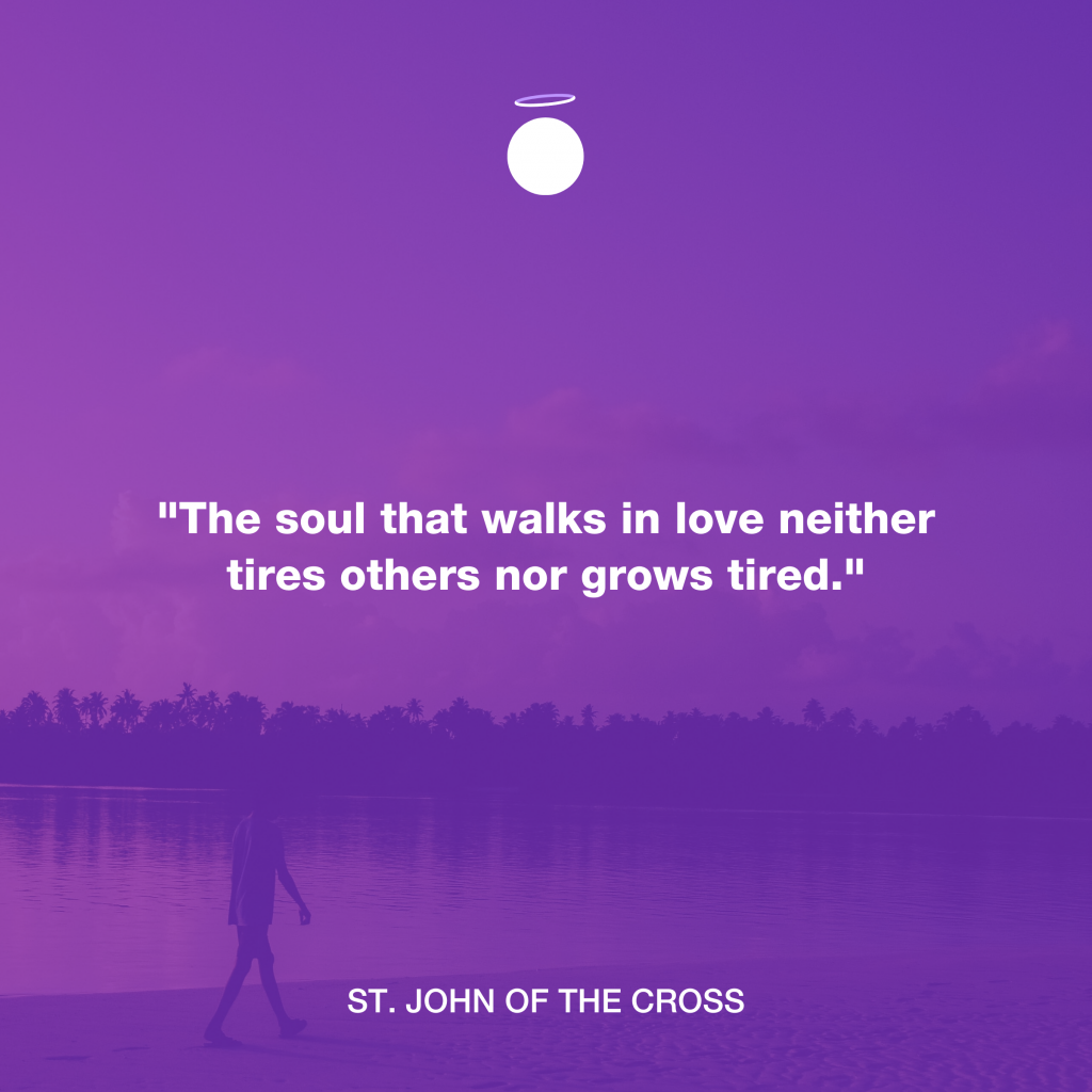 Hallow Daily Quote - Saint John of the Cross