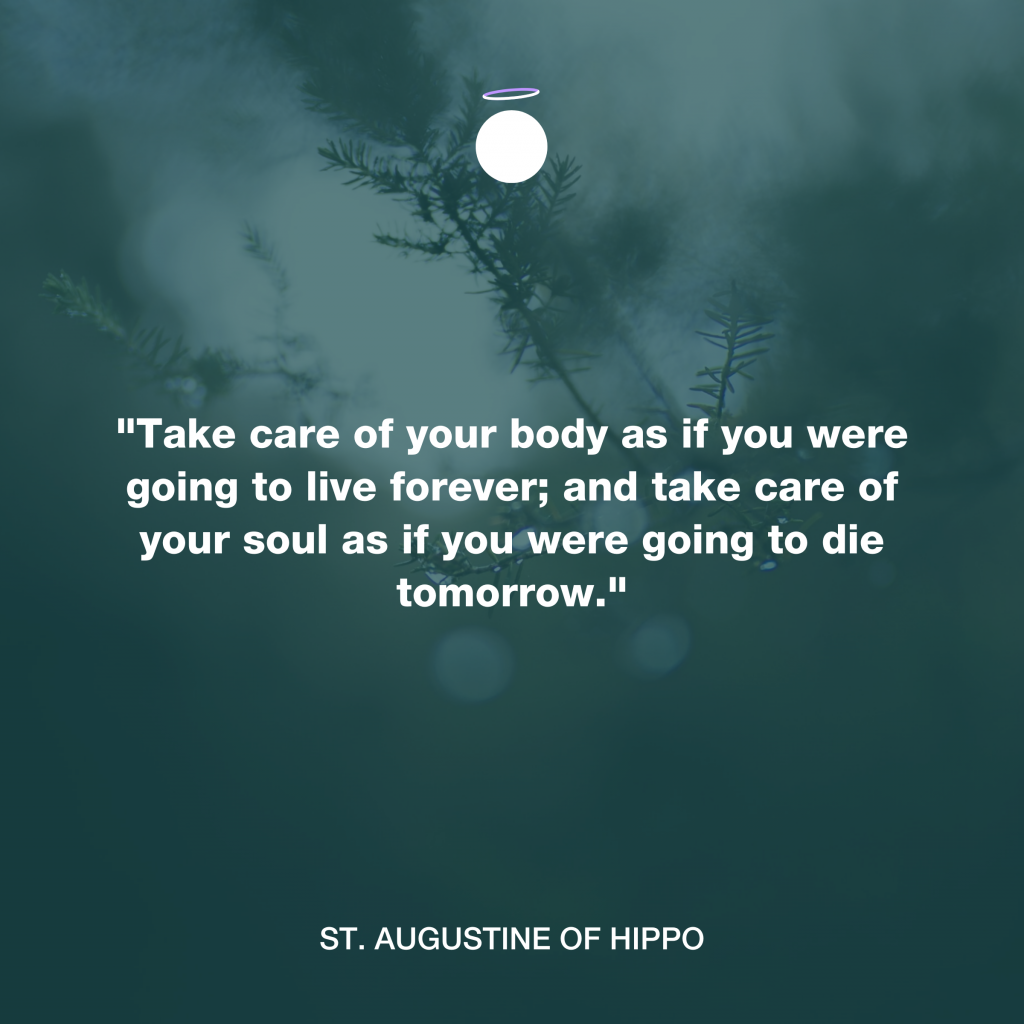 Hallow Daily Quote - Augustine of Hippo