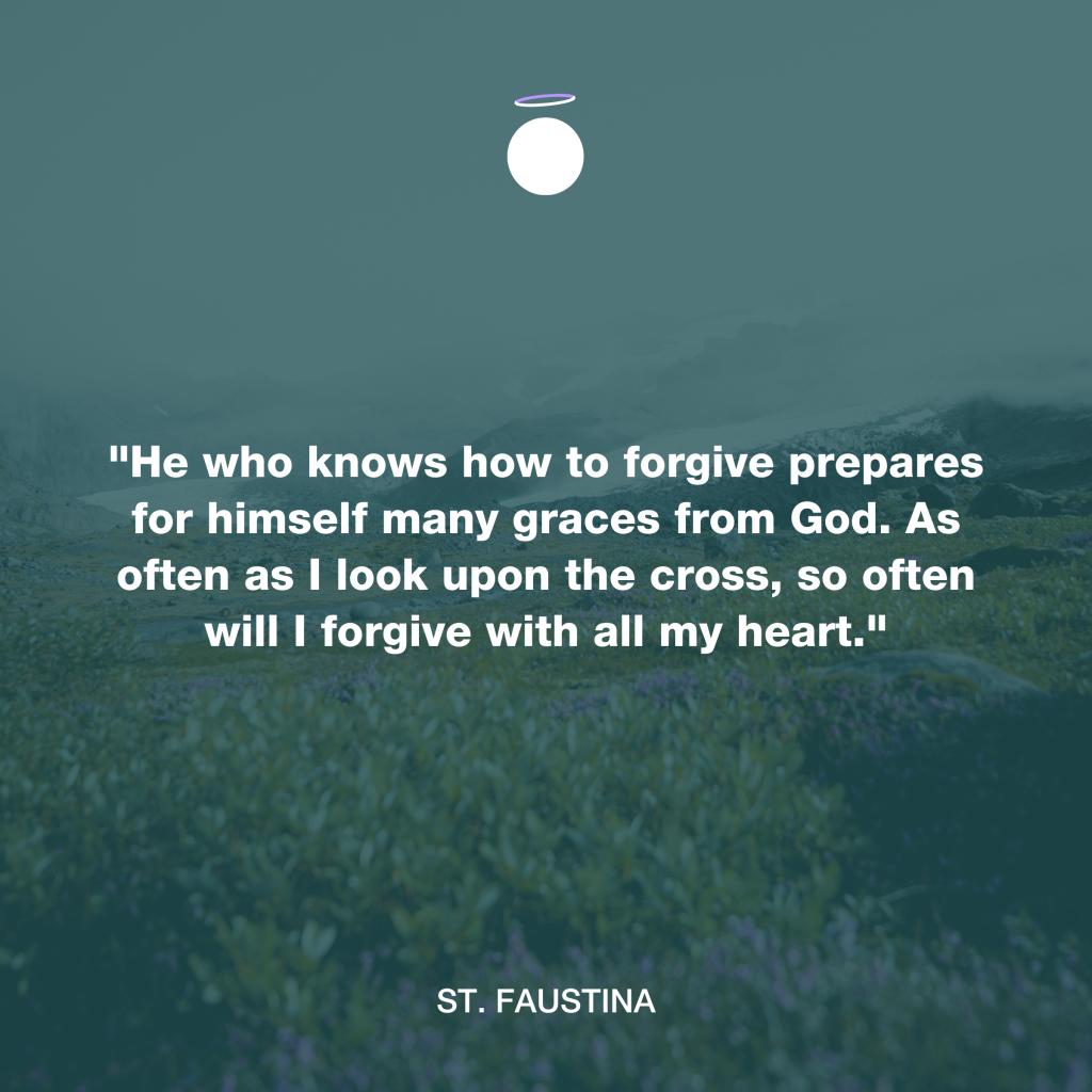 Hallow Daily Quote - Forgiveness