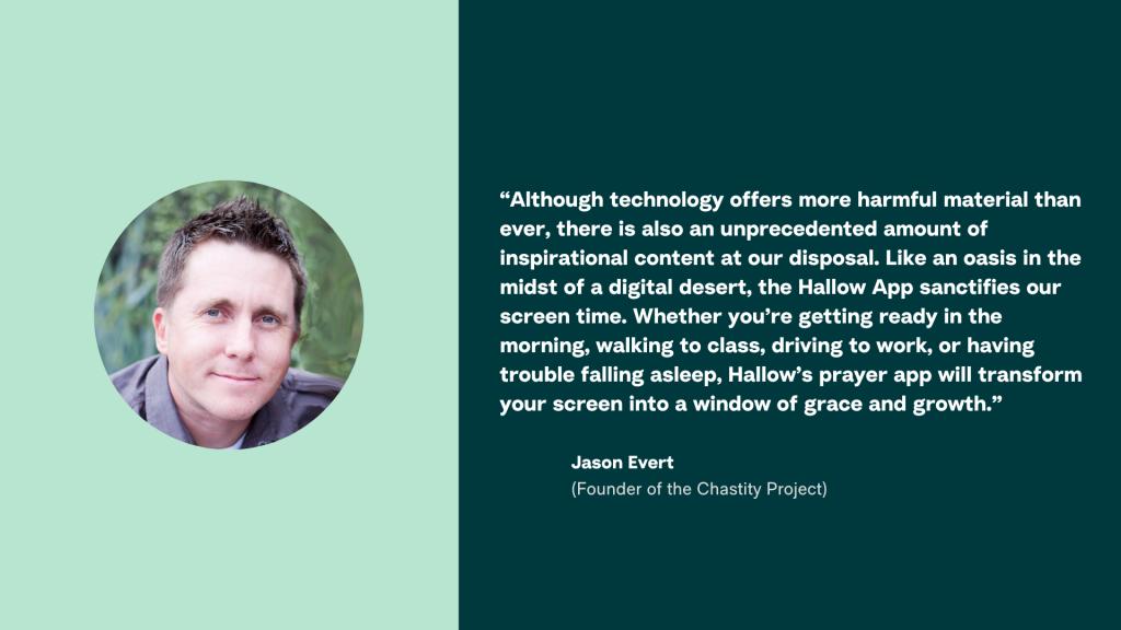 Hallow App - Jason Evert